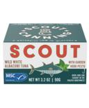 Scout Wild White Albacore Tuna with Garden Herb Pesto