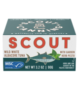 Scout Wild White Albacore Tuna with Garden Herb Pesto