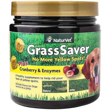Naturvet GrassSaver Plus Cranberry & Enzymes Soft Chews