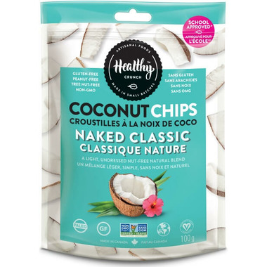 Healthy Crunch Naked Classic Coconut Chips