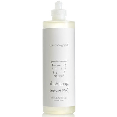 Common Good Dish Soap Unscented