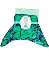 Karmin Mermaid Blanket Embossed Turquise