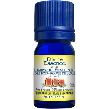 Divine Essence Western Red Cedarwood Essential Oil