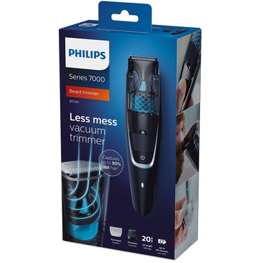 Philips Beardtrimmer series 7000 Vacuum Beard Trimmer