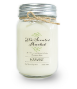 The Scented Market Soy Wax Candle Harvest
