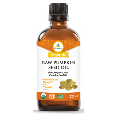 Ecoideas Organic Raw Pumpkin Seed Oil