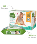Seventh Generation Bundles Diaper & Wipes Size 6
