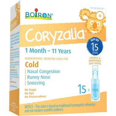 Boiron Coryzalia 15