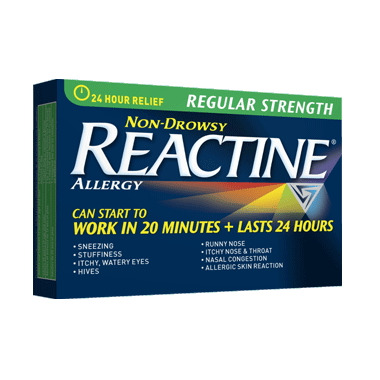 Reactine Allergy Regular Strength 24 Hour