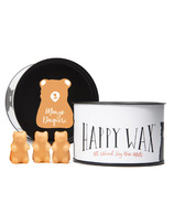 Happy Wax Classic Tin Bear Shaped Wax Melts Mango Daiquiri
