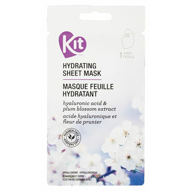 KIT Hydrating Sheet Mask