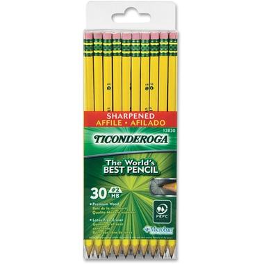 Ticonderoga Pre-Sharpened No. 2 Pencils