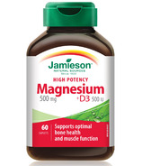 Jamieson High Potency Magnesium + D3