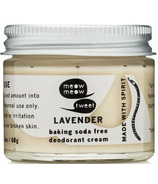meow meow tweet Baking Soda Free Deodorant Cream Lavender