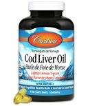 Carlson Norwegian Cod Liver Oil Lightly Lemon Small