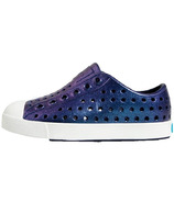 Native Kid's Jefferson Iridescent Regatta Blue & Shell White