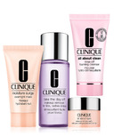Clinique Take it Off and Turn In Skin Care Set