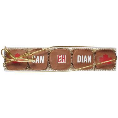 Saxon Chocolates CAN EH DIAN Caramels