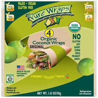 The Pure Wraps Organic Coconut Original