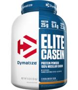 Dymatize Nutrition Elite Casein Cinnamon Bun