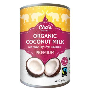 Cha\'s Organics Premium Coconut Milk