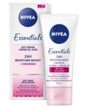 Nivea Essentials 24h Moisture Boost + Nourish Day Cream for Dry Skin