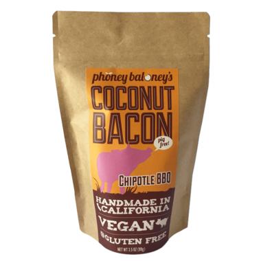 Phoney Baloney\'s Chipotle BBQ Coconut Bacon