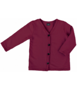 Vonbon Long Sleeve Cardigan Burgundy