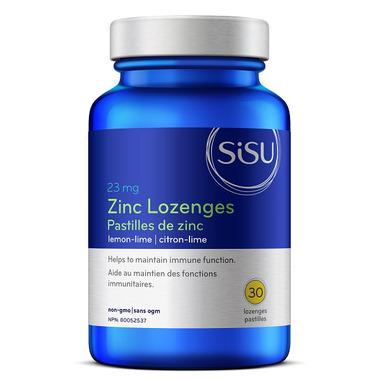 SISU Zinc Lozenges Lemon Lime