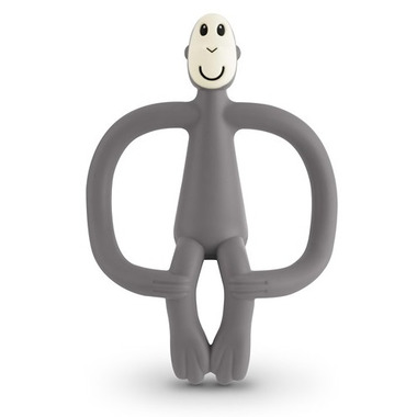 Matchstick Monkey Teething Toy Grey