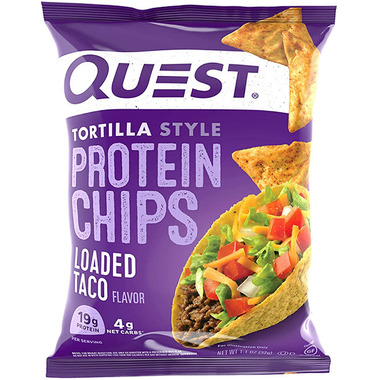Quest Nutrition Tortilla Style Protein Chips Loaded Taco