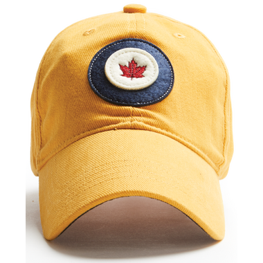 Red Canoe RCAF Cap Burnt Yellow