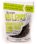 Solar Raw Organic Ultimate Kale Chips Hemp Cream & Chive