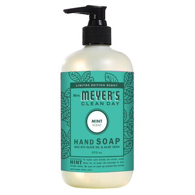 Mrs. Meyer\'s Clean Day Hand Soap Mint