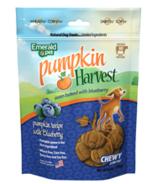 Emerald Pet Pumpkin Harvest Chewy Dog Treats Blueberry