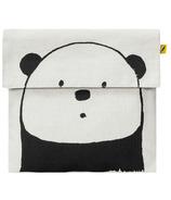 Fluf Flip Snack Bag Panda Noir