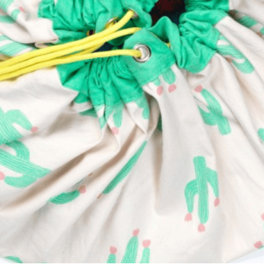 Play & Go Cactus Toy Storage Bag & Playmat