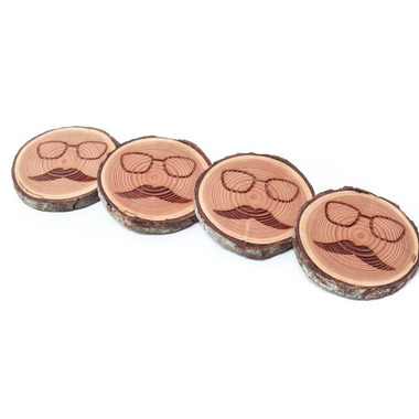 Woodrift and Co Hipster Coasters