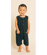 Greige The Happenin Romper Black
