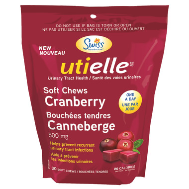 Swiss Natural utielle Cranberry Soft Chews