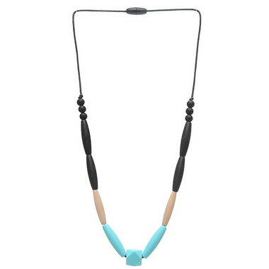 Chewbeads Bedford Teething Necklace Turquoise
