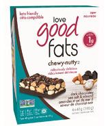 Love Good Fats Chewy Nutty Dark Chocolate Sea Salt Almond
