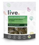 Live Organic Garden Vegetable Crackers