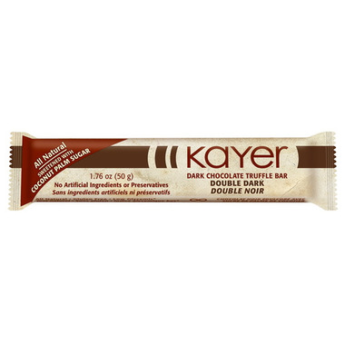 Kayer Double Dark Chocolate Truffle Bar