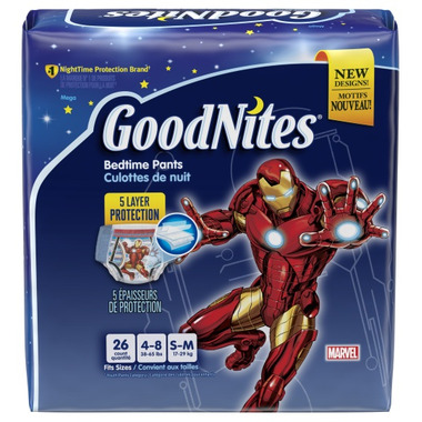 Huggies GoodNites Youth Pants For Boys Mega Pack