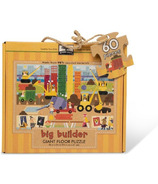 Melissa & Doug Natural Play Giant Floor Puzzle Big Builder