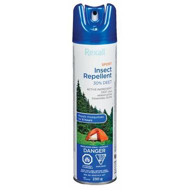 Rexall Sport Insect Repellent 30% DEET