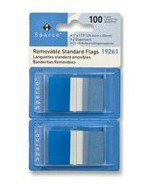 Sparco Removable Standard 1 Inch Flags