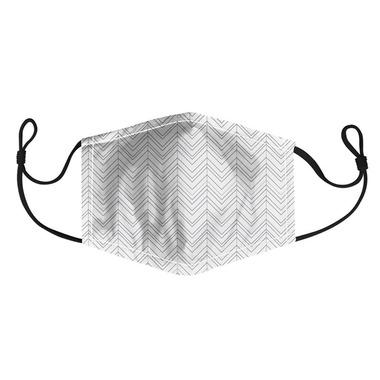 Harman Adult Face Mask Chevron Print