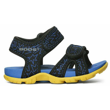 Bogs Whitefish 80\'s Sandal Black Multi
